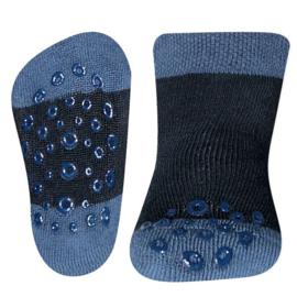 Ewers anti slip sokken Krabbelfix marine maat 18-19