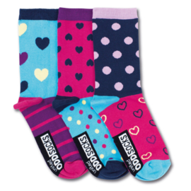 Oddsocks - Mismatched Gekke Sokken - Nancy - 3 sokken - maat 37 tot 42