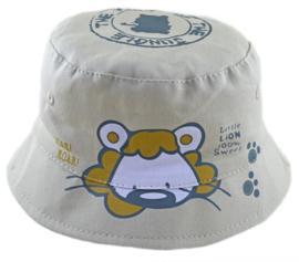 Zonnehoedje Little Lion zandkleur - maat 48,50