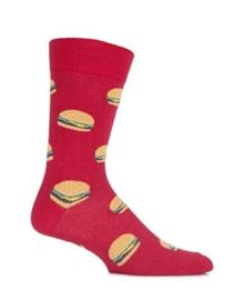 Hamburger junkfood sokken  maat 40 - 45