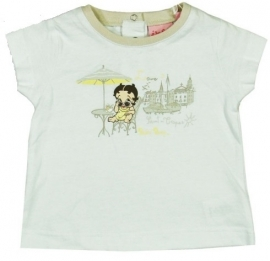 Betty Boop baby t-shirt Wit