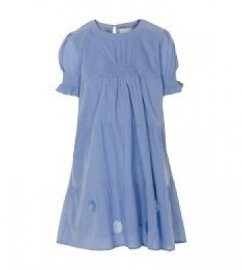 Nikki Dress lavendel blue maat 122, merk Creamie