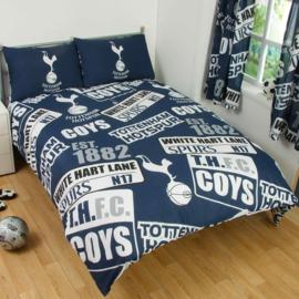Tottenham Hotspur voetbal dekbedovertrek Spurs 2 persoons met 2 kussenslopen