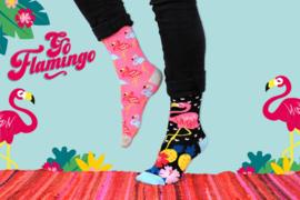 Oddsocks - Cadeaudoos met 6 Flamingo sokken - maat 37-42