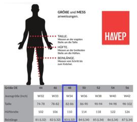 HaVeP Basic 8275 Werkbroek - Maat 48 - Marineblauw