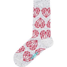 Ballonet DearMe heren sokken mt 41-46 diamanten