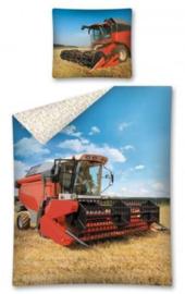 Landbouwmachine Maaidorser dekbedovertrek