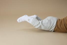 STUCKIES® anti slip sokken in wit (WHITE) maat 16/18
