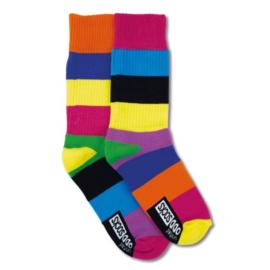 Oddsocks - Gekke Mismatched sokken - 1 paar - Rafael Sunny Gyms - maat 39-46