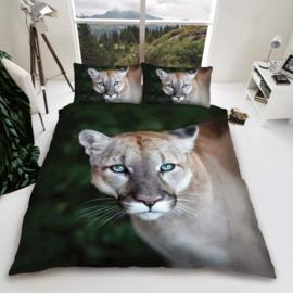 Dieren dekbedovertrek - Poema - Puma Wild Cat - 2 persoons