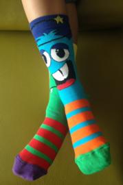 Oddsocks - Gekke Mismatched Sokken - Beast - 3 sokken - maat 31 tot 39