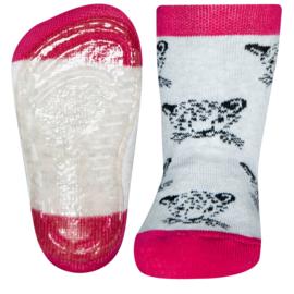 Ewers SOFTSTEP SANETTA anti slip sokken leeuw  - maat 21/22