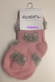 Ewers Thermo sokken Kattenkopjes maat 17-18