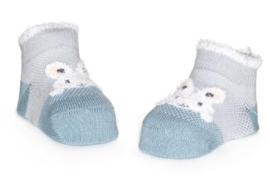 4796 Bonnie Doon babysokken Bunny blauw 0-6 mnd