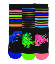 Oddsocks - Mismatched verschillende sokken - Dieren - 3 sokken - maat 30,5 tot 38,5