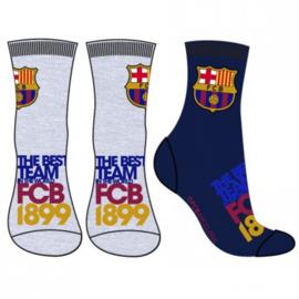 FC Barcelona sokken - set van 2 paar - maat 31/34