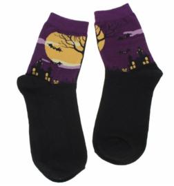 Art sokken Halloween, maat 34 - 38