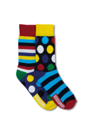 Oddsocks - Gekke Mismatched sokken - 1 paar sport sokken - Stan Sunny Gyms - maat 39-46