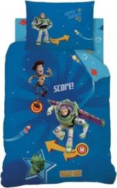 Toy Story eenpersoons dekbedovertrek met 1 kussensloop