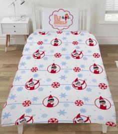 Kerst dekbedovertrek  Elf Merry & Bright -1 persoons