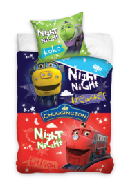 Chuggington Night dekbedovertrek set