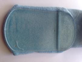 4790 Soft Touch anti slip pantoffel sokken blauw vliegtuig maat 23-26 (24 tot 36 mnd )