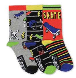 Oddsocks - Mismatched verschillende sokken - Skater - 3 sokken - maat 31 tot 38