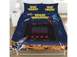 Space Invaders dekbedovertrek - tweepersoons met 2 kussenslopen