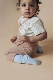 STUCKIES® anti slip sokken in lichtblauw (WAVE) maat 16/18