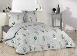 Cactus dekbedovertrek Spirit - lits-jumeaux met 2 kussenslopen