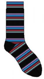 Bonnie Doon Rhythmic Stripe heren sokken mt 40 - 46