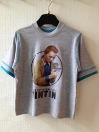 TinTin (Kuifje) T-shirt grijs