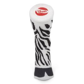 Zebra sokken - Silly socks - maat 33-37