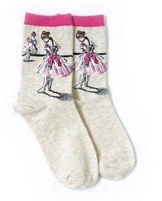 Kunst Art Sokken naar de Ballerina van Edgar Degas, maat 35 - 38