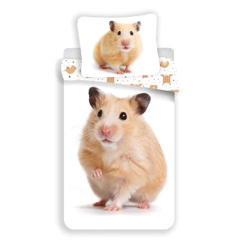 Dieren dekbedovertrek -  Hamster