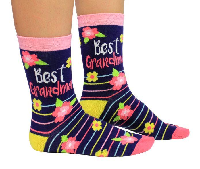 Oma sokken - Best Grandma - maat 37/42