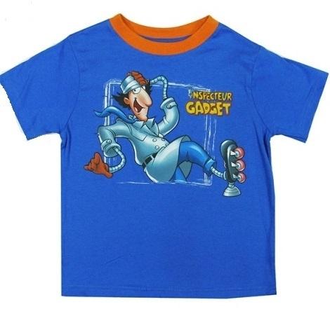 Inspector Gadget T-shirt blauw