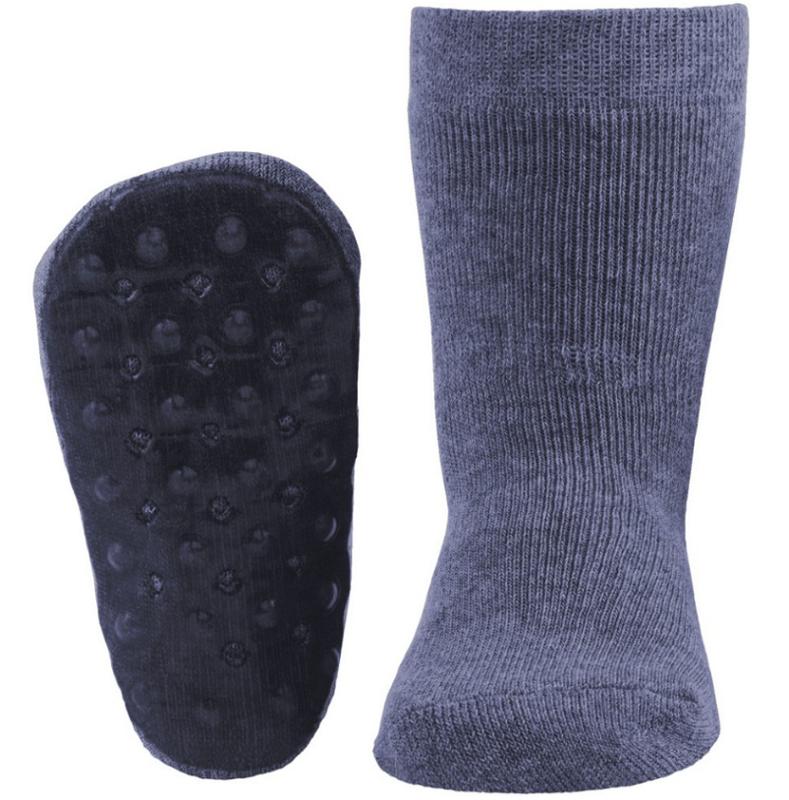 Ewers STOPPI anti slip sokken Jeansblauw maat 25-26