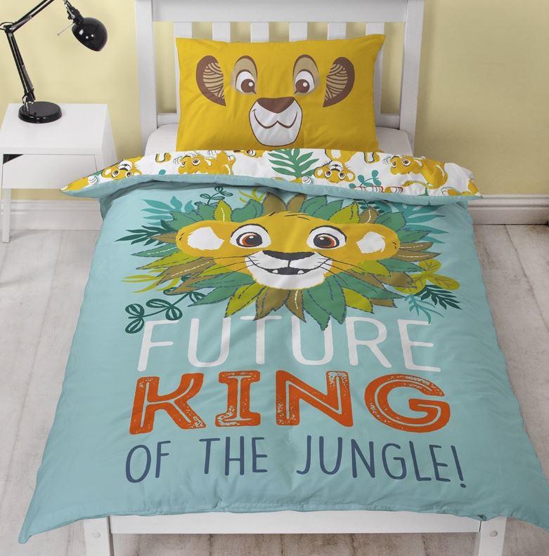 Lion King Future eenpersoons dekbedovertrek