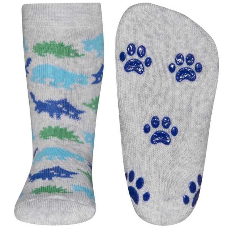 Anti slip sokken Ewers Dieren grijs maat 18-19