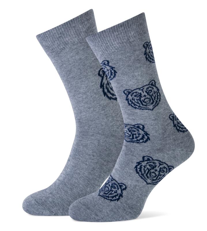 Marcmarcs set van 2 paar sokken - grijs - maat 43/46