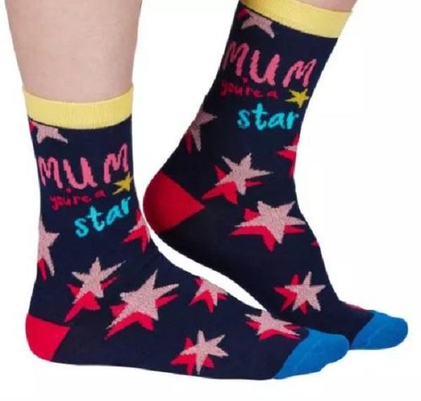 Mama sokken - Mum you're a STAR - maat 37/42