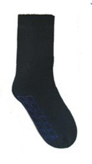 THERMO Lounge / bed sokken maat  41 - 46 bruin ANTI SLIP