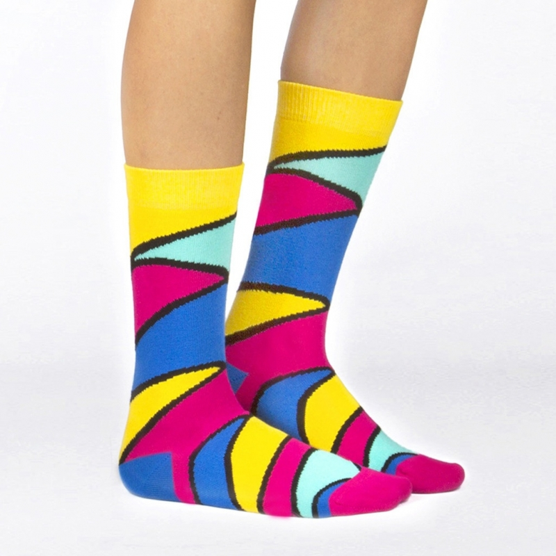Ballonet Pegasus heren sokken mt 41 - 46 multi kleuren