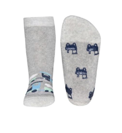 Ewers anti slip sokken treintje maat 19-22