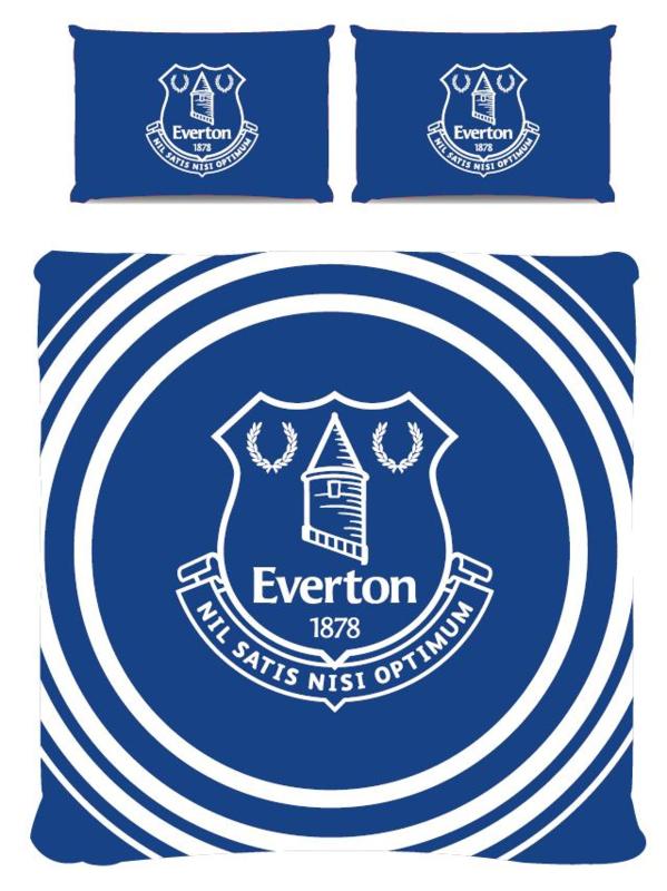 Everton dekbedovertrek 2 persoons met 2 kussenslopen