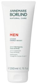 A.B. for Men body & face cleanser