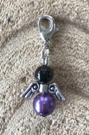 Beschermengeltje Purple black