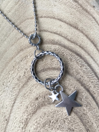 Dames ketting Lucky stars