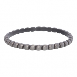 Bolletjes ring iXXXi antiek zilver